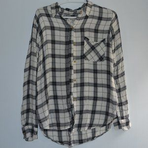 Abercrombie & Fitch Plaid Shirt Long sleeve